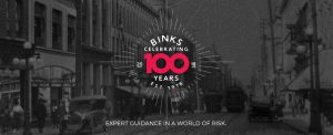 Binks insurance 100 years in business